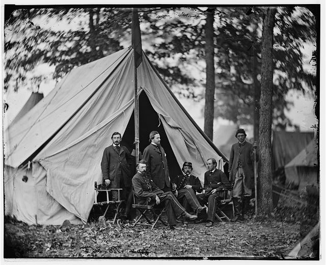 [Warrenton, Va. Dr. Jonathan Letterman, medical director of the Army of the Potomac and staff]