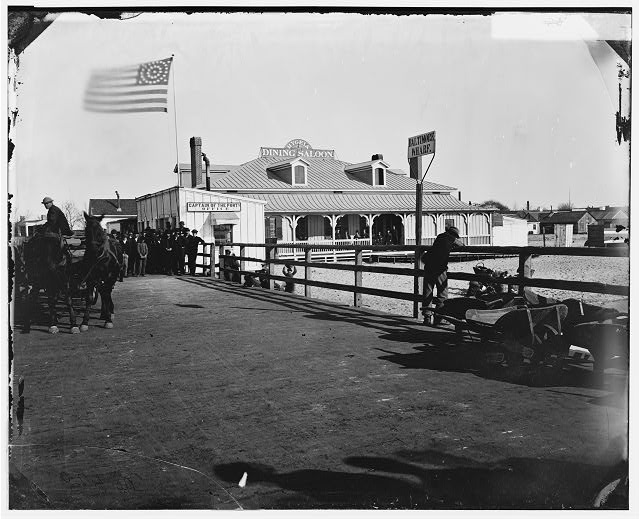 [Fort Monroe, Va. Captain of the Port's office and the Hygeia Dining Saloon]