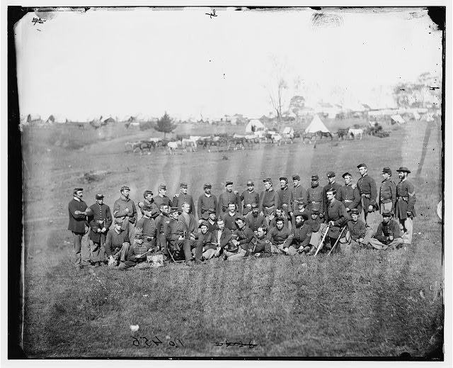 [Bealeton, Va. Company G, 93d New York Infantry]