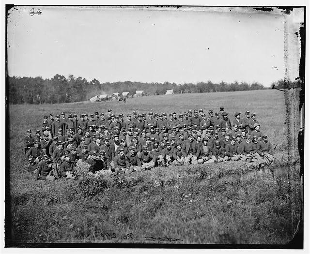 [Culpeper, Va. Men of Battery M (Benson's), 2d U.S. Artillery]