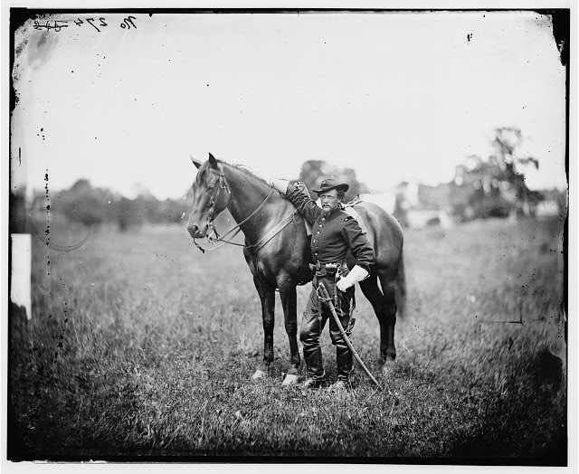 [Bealeton, Virginia]. Capt. Henry Page, assistant quarter master, at Army of the Potomac headquarters