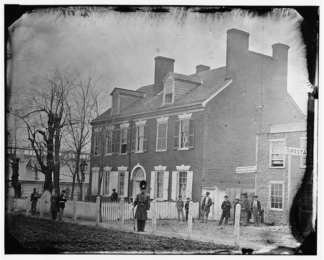 Washington, District of Columbia. Gen. Alfred Pleasonton's quarters