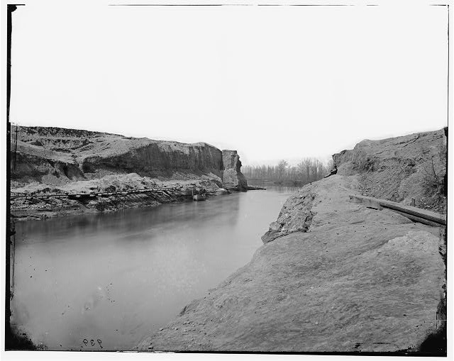 [James River, Va. Another view of the Dutch Gap canal]