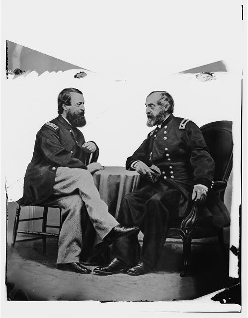 Admiral Porter and General Meade.