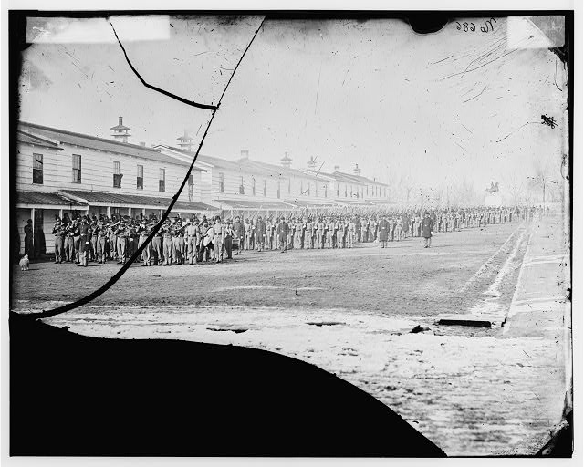 Washington, District of Columbia. 9th U.S. Veteran Reserve Corps (Regimental band shown)