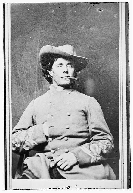 [Captain William J. Lawton, U.S.A., dressed as a Confederate officer]