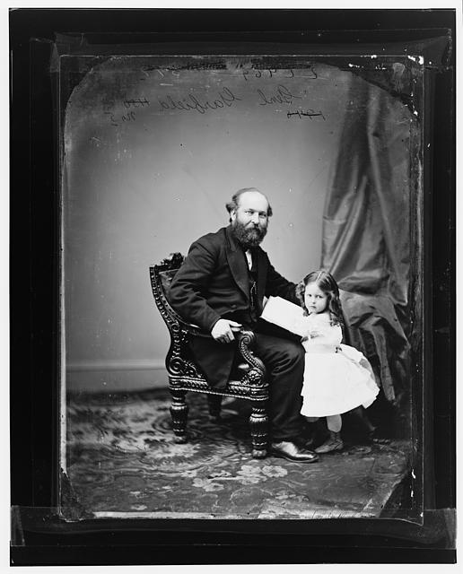 Garfield, President James A. and daughter