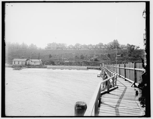 [White Fish Bay from pier, Wisconsin]