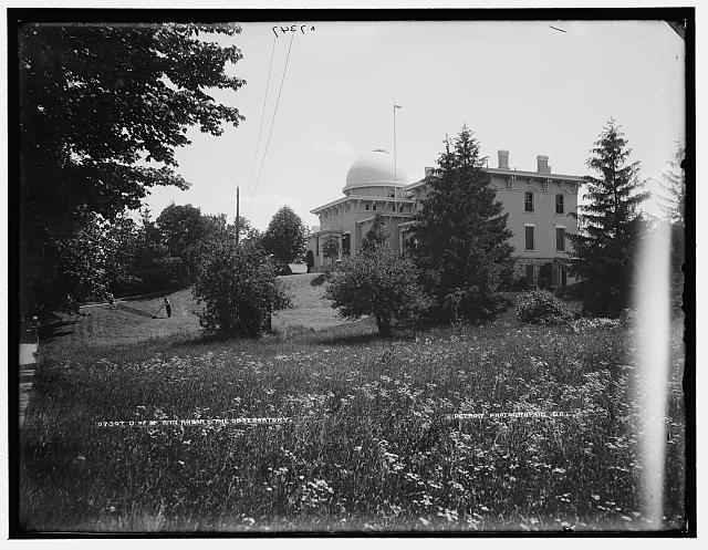 U. of M., Ann Arbor, the Observatory