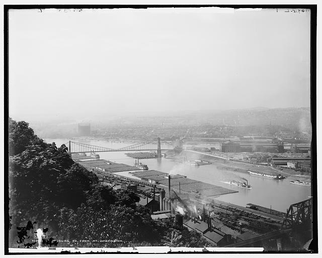 Pittsburgh, Pa., from Mt. Washington