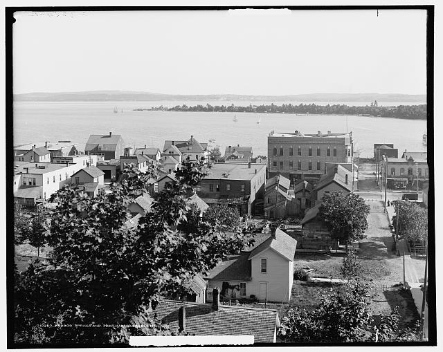 Harbor Springs and point, Harbor Springs, Mich.