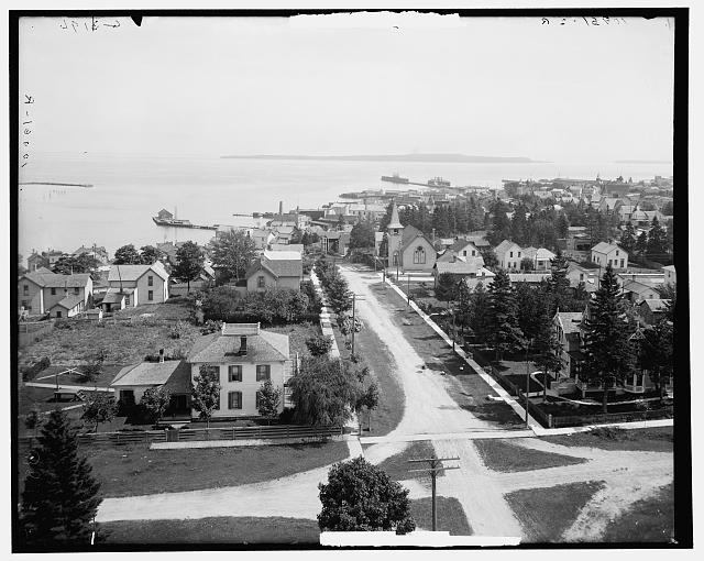 The Harbor, St. Ignace, Mich.
