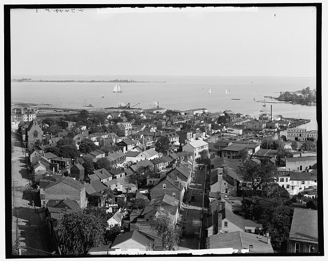 [City and harbor, Annapolis, Md.]