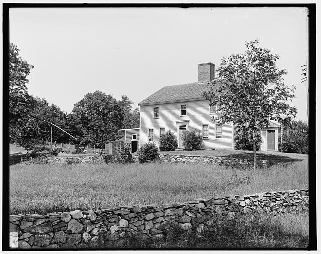 Whittier's birth place, Haverhill, Mass.