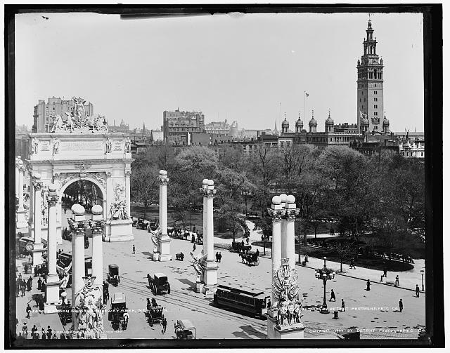 Madison Square and Dewey Arch, New York, N.Y.