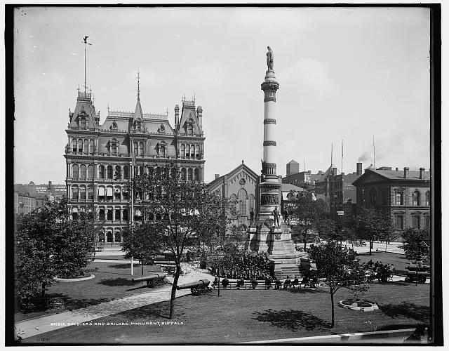 Soldiers' and Sailors' Monument [Lafayette Square], Buffalo