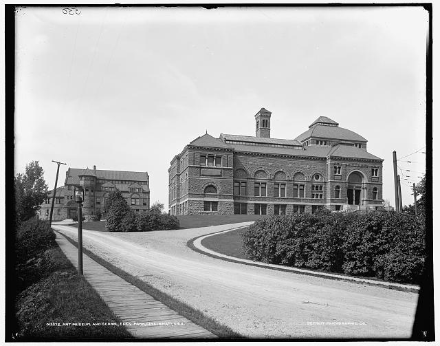 Art Museum and school, Eden Park, Cincinnati, Ohio