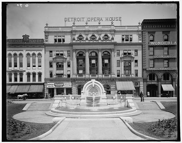 [Merrill Humane Fountain, erected by Mrs. T. W. Palmer, Detroit, Mich.]