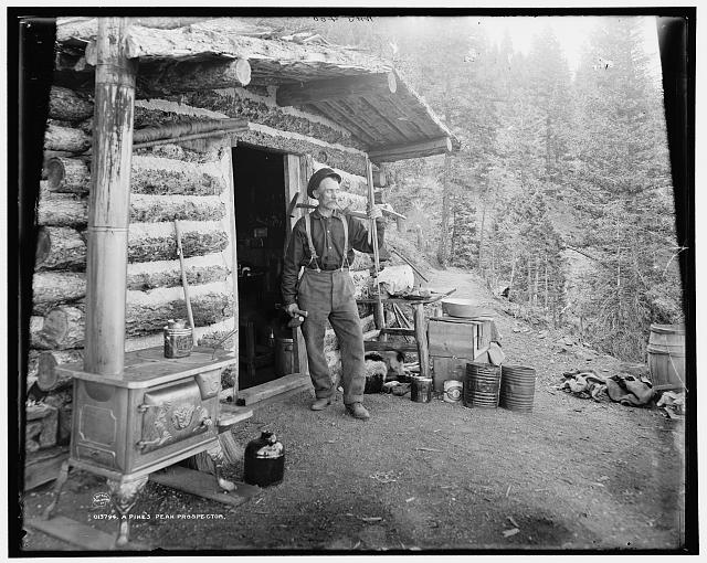 A Pike's Peak prospector