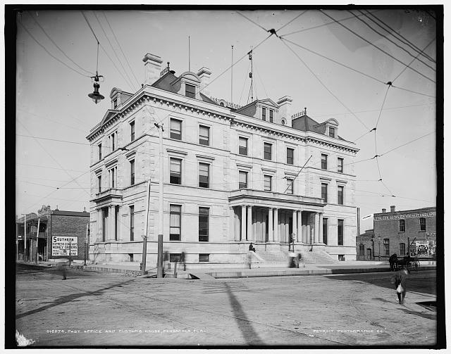 Post Office and Customs House, Pensacola, Fla.