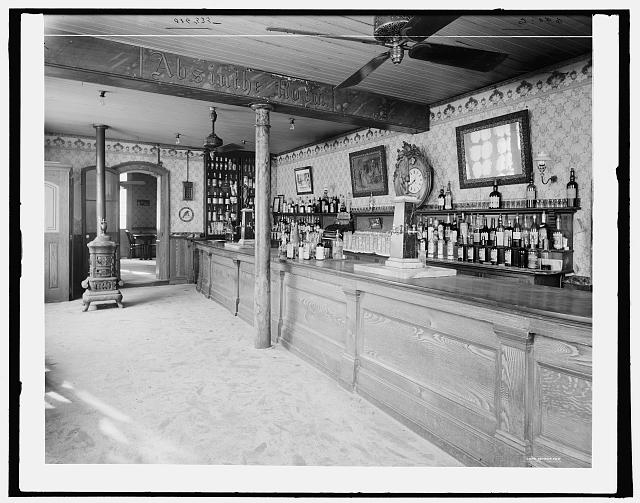 [Old Absinthe House, the bar, New Orleans, La.]
