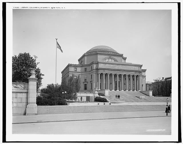 Library, Columbia University, New York, N.Y.