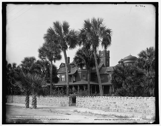 Residence on North Beach St., Daytona, Fla.