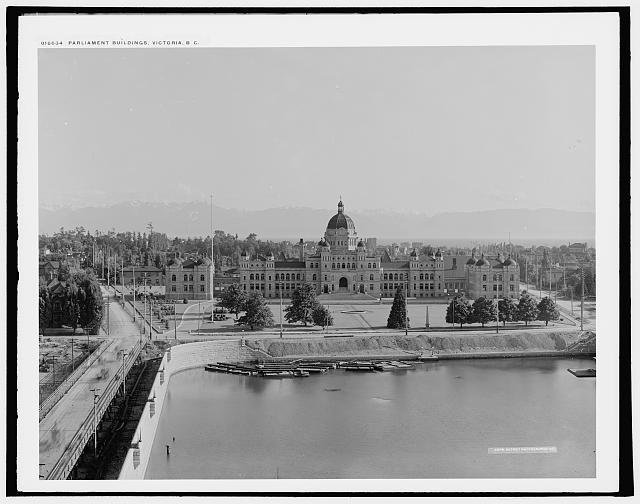 Parliament Buildings, Victoria, B.C.