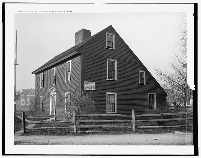 Birthplace of John Adams, Quincy, Mass.