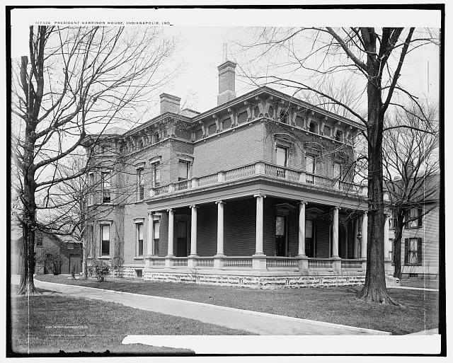 President Harrison house, Indianapolis, Ind.