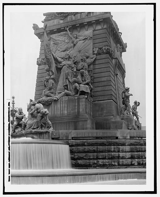 West Face, Soldiers' and Sailors' Monument, Indianapolis, Ind.