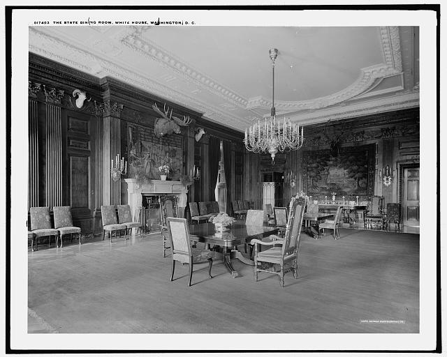 The State Dining Room, White House, Washington, D.C.