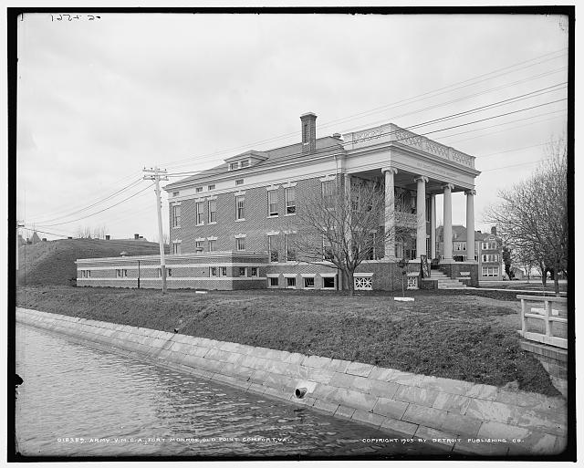 Army Y.M.C.A., Fort Monroe, Old Point Comfort, Va.