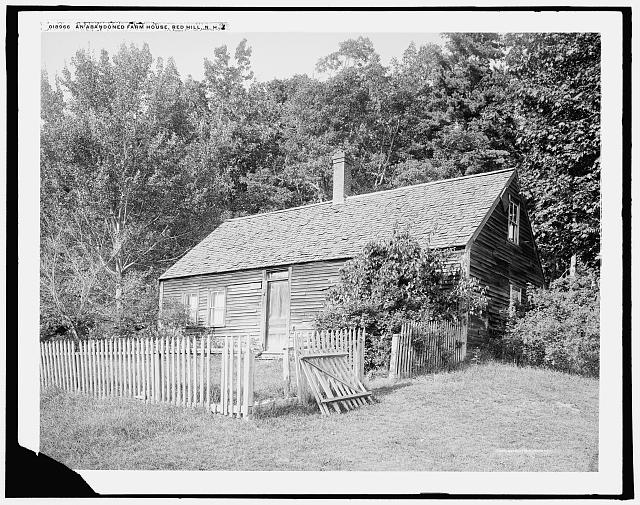 An Abandoned farm house, Red Hill [i.e. Center Harbor], N.H.