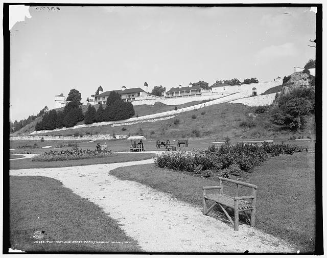 The Fort [i.e. Fort Mackinac] and state park, Mackinac Island, Mich.