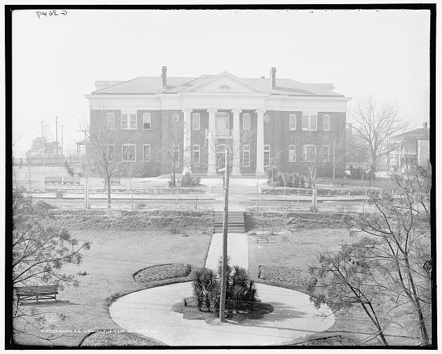 Carnegie Library, Tuskegee Institute, Ala.