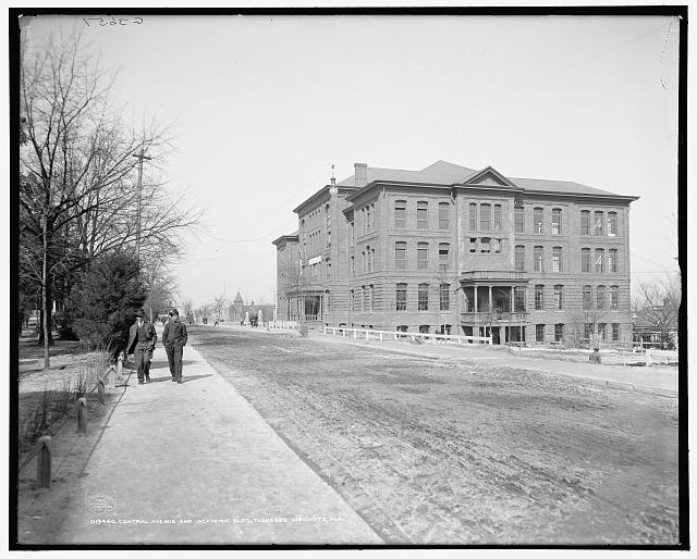 Central Avenue and Academic Bldg., Tuskegee Institute, Ala.