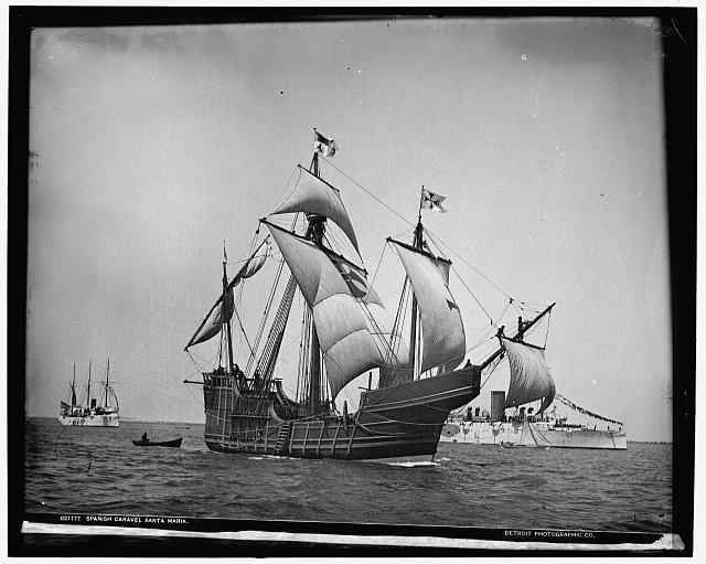 Spanish caravel Santa Maria