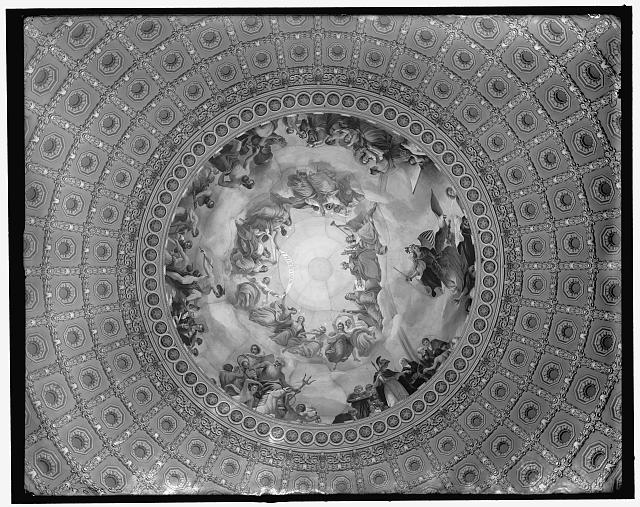 [Apotheosis of Washington, fresco in the canopy of the dome, Rotunda of The United States Capitol]]