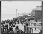 [Atlantic City, New Jersey, south on the Boardwalk]