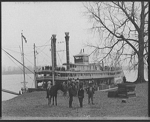 [Ashwood landing, Mississippi River, Miss.]