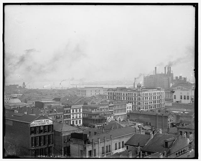 [New Orleans, river from Henner Bldg.]