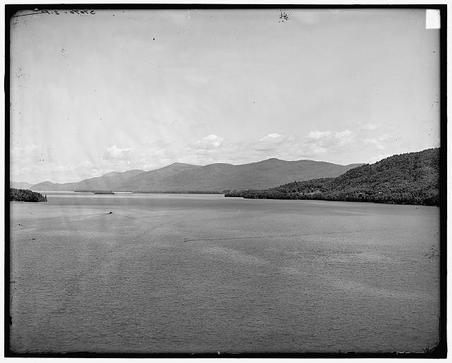 [N.Y., Lake George from Fort William Henry Hotel]