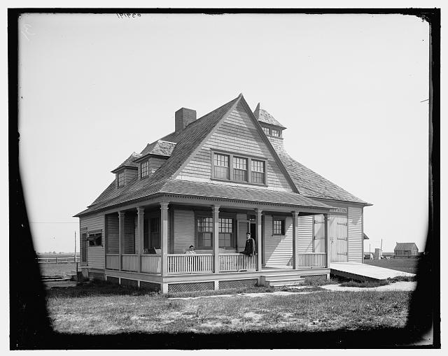 [Life saving station, Cape May, N.J.]