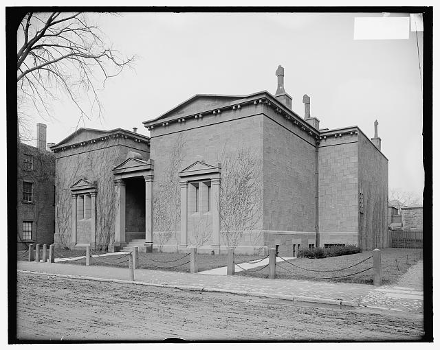[Hall of Skull and Bones fraternity house, Yale University, New Haven, Conn.]