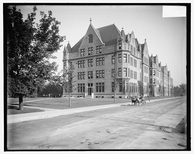 [Cobb Lecture Hall, University of Chicago, Chicago, Ill.]