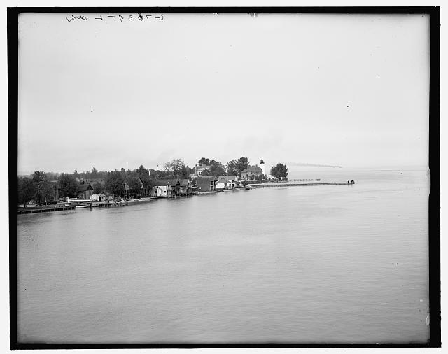 [Windmill Point, Lake St. Clair]