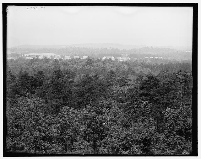 [Fort Oglethorpe from Reed's Tower, Chickamauga, Georgia]