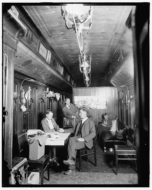[New York Central Railway (Railroad) photographic car]