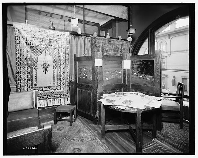 [Detroit, Mich., offices and furnishings of Mulford & Petry Co.]